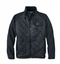 NWT Woolrich XL Black Quilted Absolute Insulated Soft Shell Medium Weight Jacket