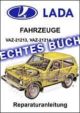 Echtes Buch: LADA NIVA 2121 4x4, Benzin, Diesel 🔧 Reparaturanleitung Deutsch