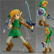 Anime The Legend of Zelda: A Link Between Worlds Link Figma Action Figure No Box