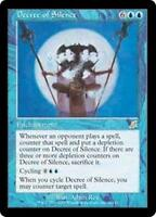 4x Decree of Silence x4 Scourge Magic MtG LP Commander