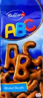 ABC Alphabet Biscuits Cocoa Cookies Sweets Delicious With Coffee Milk Party