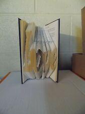 LOVE - Folded Book Art - Book Sculpture - Love - Wedding - Anniversary Handmade
