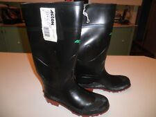 BRAND NEW ACTON RUBBER BOOT SIZE 7 made in Canada 15 inch high