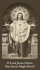 Jesus Great High Priest Prayer Card (wallet size)