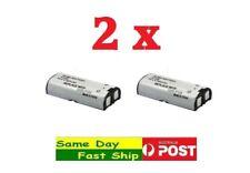 2x 2.4V 800mAh Ni-MH HHR-P105 P105A Replacement Cordless Panasonic Phone Battery