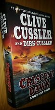 Crescent Dawn by Clive & Dirk Cus 1st Us edition Hardback Dustjacket