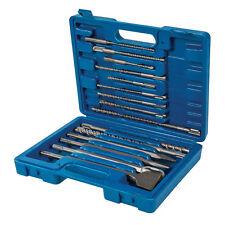Silverline 196570 SDS Plus Masonry Drill/Steel Set 15pc 15pce