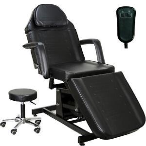 InkBed Black Electric Height Adjustable Massage Tattoo Bed Studio Equipment