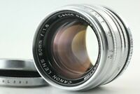 [EXC +5 ] Canon 50mm f/1.8 Leica Screw Mount LTM L39 MF Lens from Japan