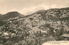13606464 Saint-Gervais-Les-Bains Vue panoramique Paysage et le Mont Blanc Alpes