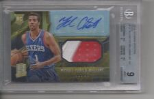 2013-14 MICHAEL CARTER-WILLIAMS SPECTRA ROOKIE PATCH GOLD 02/10 RC BGS 9 AU 10