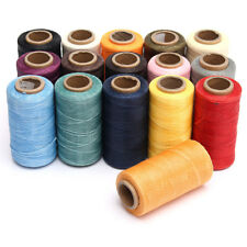 260m /284yrd 150D 1MM Leather Sewing Waxed Wax Thread Hand Stitching Cord Craft