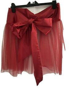 Ann Summers - Wrapped Up For Christmas - Red , Size Large