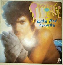 "PRINCE: LITTLE RED CORVETTE (1982 BELGIUM 7"" SINGLE/ PICTURE SLEEVE)"
