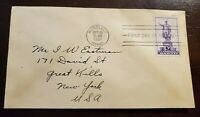 STAMPS - HAWAII - OCTOBER 18, 1937 FIRST DAY COVER - SCOTT # 799