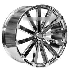 "4ea 22"" Velocity Wheels VW12 Chrome Rims (S3)"