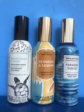 Lot Of 3- Bath & Body Works Concentrated Room Home Spray 1.5 oz New