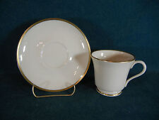 Gorham China Gold Coupe Cup and Saucer Set(s)