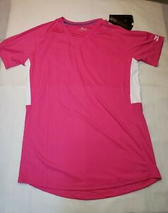 Mizuno Performance Womens Pink Athletic Top Size XL Comfortable Lightweight Gear