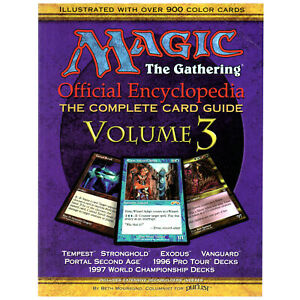 Magic: The Gathering Official Encyclopedia, The Complete Card Guide Vol. 3 - THG
