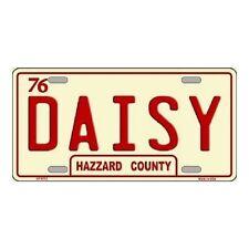 """Dukes of Hazzard Daisy Hazzard County Novelty License Plate 6"""" x 12"""""""