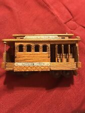 San Francisco Powell & Hyde Sts. Cable Train Car Music Box