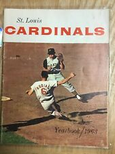 1963 St. Louis Cardinals Yearbook