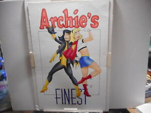 ARCHIE'S FINEST (VERONICA & BETTY) original colored art