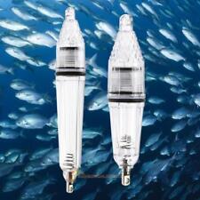 Gota de profundidad bajo el agua peces atraer Señuelos Pesca LED Luz Intermitente Cebo Tackle