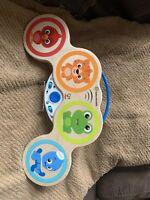 HAPE Baby Einstein Magic Touch Drums Wood Toddler Music Montessori