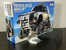 NEW Tamiya 1/10 R/C Toyota Hilux High-Lift Pick-up Truck Kit 58397 + Bonus Parts