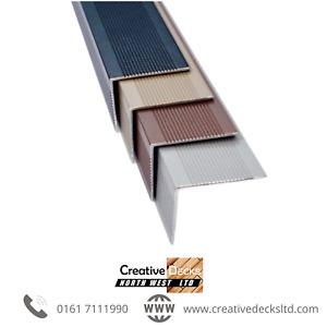 High Quality Decking Aluminium Trim 3660 x 50 x 40 x 2mm