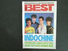 BEST N°202 MAI 1985 INDOCHINE SANS POSTER TTBE