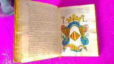 CASTELLON, MANUSCRITO ORIGINAL MIGUEL VILLAROIG, MANUEL JOAQUIN DEL POZO 1773
