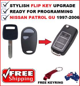 FITS NISSAN PATROL GU REMOTE CAR KEY 1997  1999 2000 2001 2002 2003 2004 - 2006