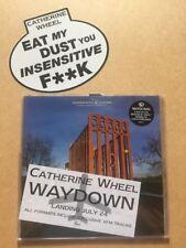 "Catherine Wheel Waydownnumbered 10"" Vinyl + Promo Bumper Sticker & Flyer M/EX"