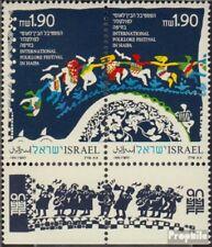 israël 1160-1161 Couple avec Tab (complète edition) neuf avec gomme originale 19