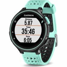 Garmin Forerunner 235 45mm Caja Negra, Correa Celeste GPS Reloj (010-03717-48)