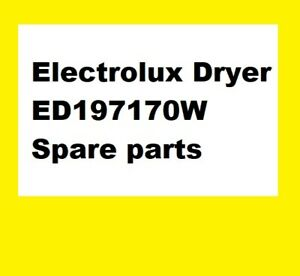 Electrolux Dryer ED197170W - Spare parts