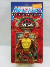 Motu, Vintage, Rattlor, Masters Of The Universe, Moc ,Precintado,Figura,He-Man