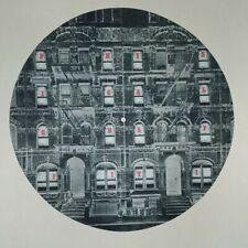 "RARE Led Zeppelin 12"" PROMOTIONAL SLIPMAT Physical Graffiti FAST SHIPPING"