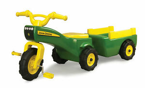 Ertl John Deere Pedal Tractor and Wagon