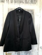 Marks And Spencers Black Jacket New Size 22
