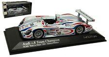 Minichamps Audi R8 #38 'Champion' ALMS 'Petit Le Mans' 2001 - 1/43 Scale