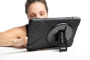 """iPad 7th & 8th generation, 10.2"""" shockproof rugged student case, rotating stand"""
