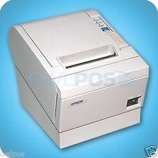 Epson Tm-T88Iii M129C Parallel Pos Thermal Receipt Printer w/ Power Supply White
