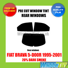 FIAT BRAVA 5-DOOR 1995-2001 20% DARK REAR PRE CUT WINDOW TINT