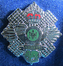Boxed UK Army Military Lapel Pin Badge - The Highland Light Infantry