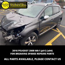 2016 PEUGEOT 2008 Mk1 (ph1) (a94) 1.6 BREAKING SPARES AND REPAIRS PARTS DV6FD