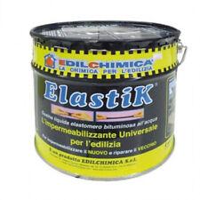 ELASTIK GUAINA LIQUIDA IMPERMEABILIZZANTE DA 5 kg + TESSUTO + GUANTI + PENNELLO